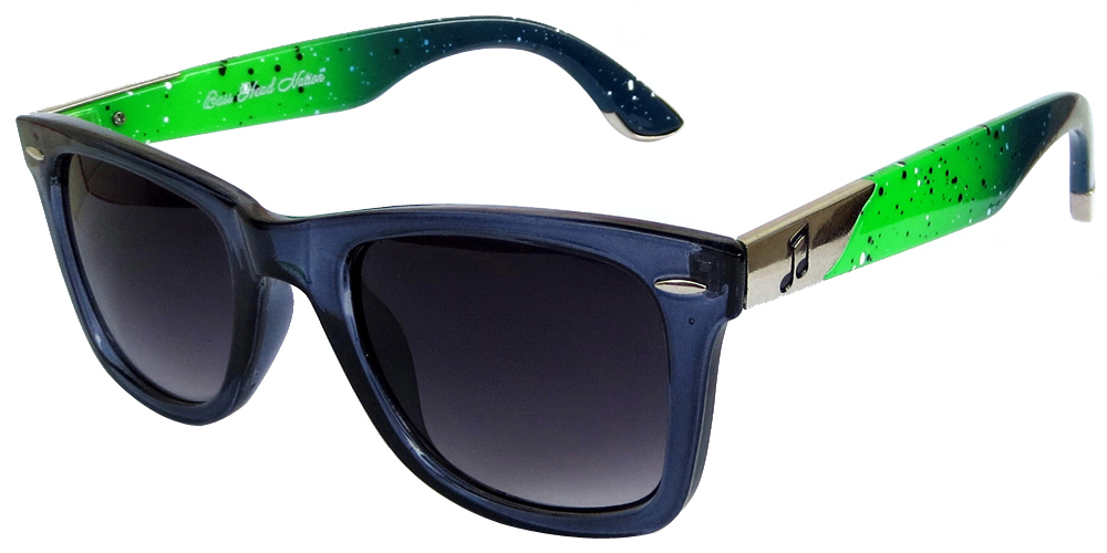 Wayfarer Sunglasses with double color frames