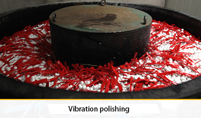 Vibration polishing
